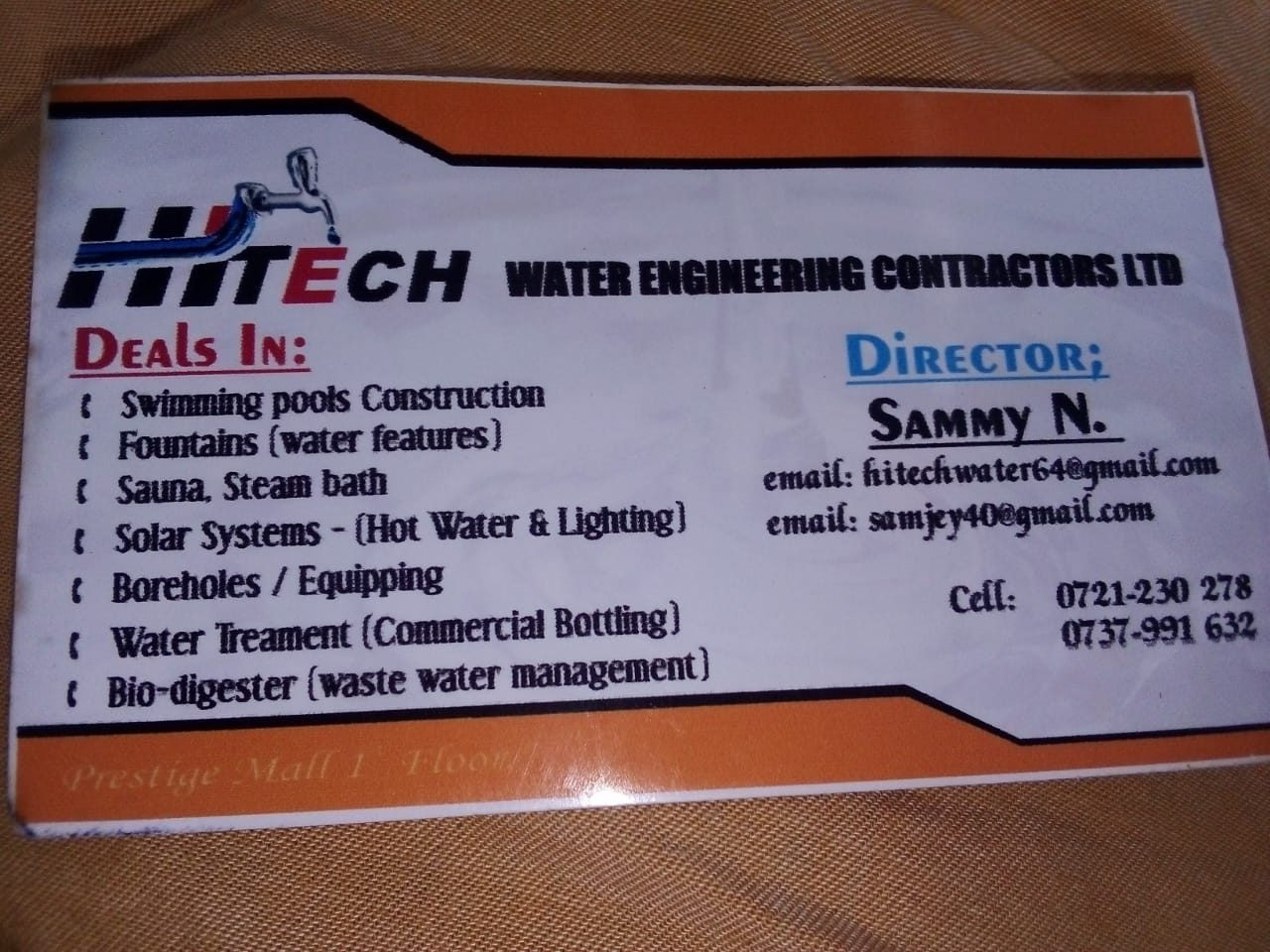 Hitech Water Engineering Contractors Ltd